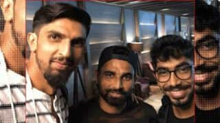 Ishant Sharma, Jasprit Bumrah, Mohammed Shami, R Ashwin and others fly to England for test series, shares picture on Twitter