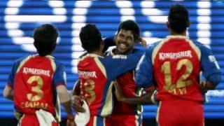Royal Challengers Bangalore (RCB) vs Sunrisers Hyderabad (SRH) Live Scorecard IPL 2014: Match 24 of IPL 7 at Bangalore