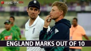 Bangladesh vs England Test series: Marks out of 10 for England