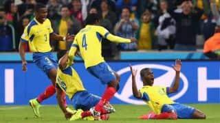 Ecuador edge Honduras 2-1 in FIFA World Cup 2014