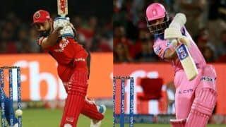लगातार तीन मैच हार चुकी, विराट-राहणे की टीम को पहली जीत की तलाश