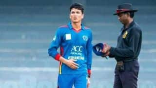 Mujeeb Zadran, Naveen-ul-Haq included in Afghanistan U-19 World Cup squad