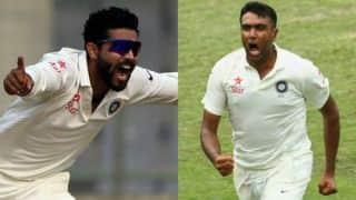 Ravichandran Ashwin-Ravindra Jadeja become third pair to score 2 fifties and take 20 wickets in a Test Series