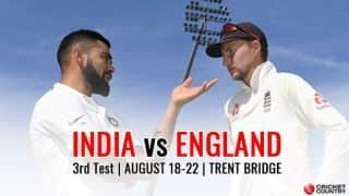 India vs England, 3rd Test: MATCH HOME – Live scores, updates, reports, videos