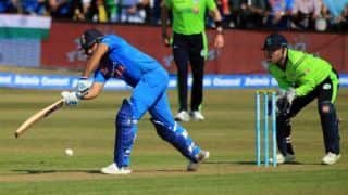 Rohit Sharma, Shikhar Dhawan demolish Ireland attack, India post 208 in 1st T20I