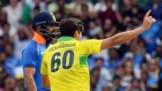 I will remember Virat Kohli's wicket for a very long time: Jhye Richardson