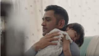 MS Dhoni portrays the perfect dad in Exide Life Insurance's new advertisement