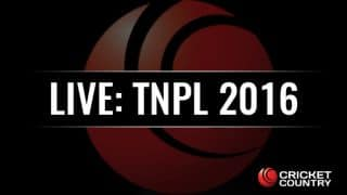 VTV 134/9, 20 overs | TNPL 2016 Live Updates, Dindigul Dragons vs VB Thiruvallur Veerans: DDD win by 29 runs