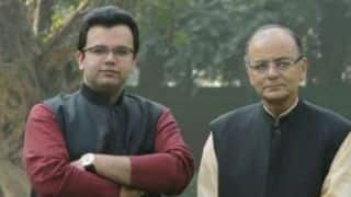 Arun Jaitley son Rohan Jaitley selected as DDCA News chief