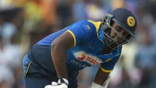 Mathews' injury puts SL in a fix ahead of BAN ODI