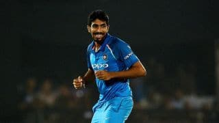 Jasprit Bumrah becomes second Indian bowler to take 50 T20I wickets