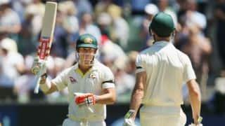 एशेज 2017-18, चौथा टेस्ट, पहला दिन: डेविड वॉर्नर की अर्धशतकीय पारी से ऑस्ट्रेलिया को मिली मजबूत शुरुआत