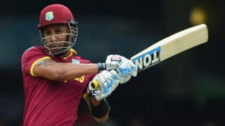 West Indies reach 310/5 against Pakistan in ICC Cricket Word Cup 2015 match 10
