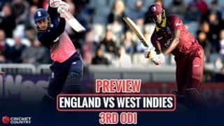 England vs West Indies 2017, 3rd ODI at Bristol, preview & likely XI: Visitors aim to level terms