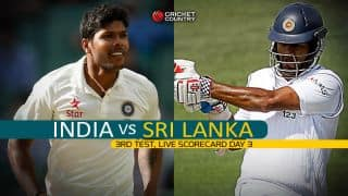 Live Cricket Scorecard: India vs Sri Lanka, 3rd Test, Colombo, Day 3