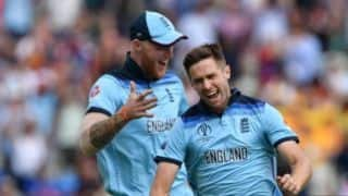 Cricket World Cup 2019: 'Speechless' Chris Woakes hails 'incredible' team performance as England march into final