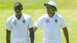 SA vs SL 2nd Test, Day 2: De Kock's ton, Herath's milestone and other highlights