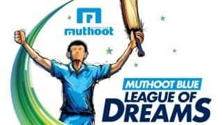 "Vote for your favourite team in 'The Muthoot Blue League  of Dreams"", over 1000 Street Cricket Teams are waiting for the votes to fulfill their dreams!!!"