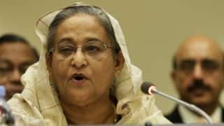 ICC World Cup 2015: B'desh would have defeated India had it not been for umpiring errors, says Sheikh Hasina
