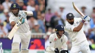 Cheteshwar Pujara's true grit to the fore on Virat Kohli's historic day at Trent Bridge