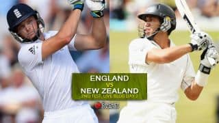 Live Cricket Score England vs New Zealand 2015, 2nd Test at Headingley, Day 2, ENG 253/5 after 88 overs:Honours even at Stumps