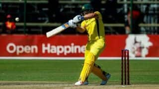 Aaron Finch breaks own world record T20I score