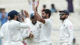 India vs New Zealand, 2nd Test, Day 2: Bhuvneshwar Kumar's five-for floors Kiwis amidst empty stands