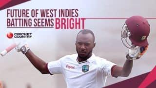 Jermaine Blackwood makes the future of West Indies batting seem bright