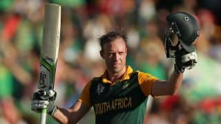South Africa convener of selectors insists AB de Villiers given gloves to add batting depth