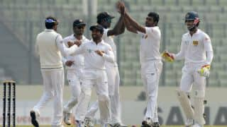 Sri Lanka reach 68/2 in second innings against Bangladesh at Lunch on Day 4, 2nd Test