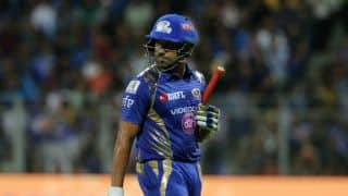 Rohit Sharma thanks Wankhede Stadium crowd for support after MI narrow win over DD