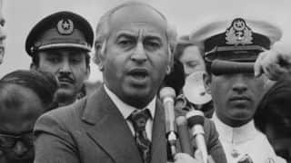Former Pakistan PM Zulfikar Ali Bhutto was useful right-handed batsman, claims new book