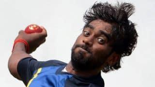 Injured hamstring forces Nuwan Pradeep out of Australia Tests