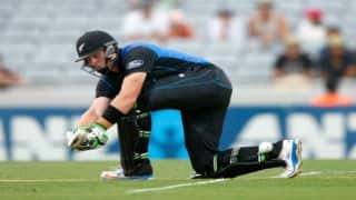 New Zealand vs Sri Lanka 2014-15, 3rd ODI at Auckland: Match abandoned due to rain; series level 1-1