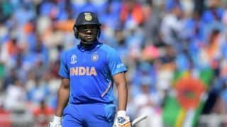 Cricket World Cup 2019: Rohit Sharma posts picture indicating he was not out