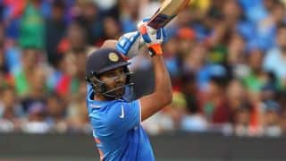 ICC Champions Trophy 2017:Fans click selfie with a ball after Rohit Sharma's Boundary