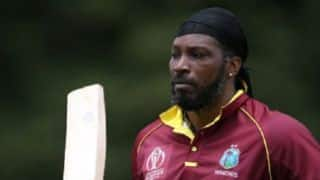 Cricket World Cup 2019: After MS Dhoni's glove episode, now ICC bans Chris Gayle from using Universe Boss logo on his bat
