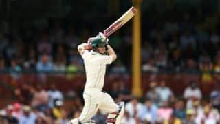 एशेज 2017-18: पर्थ टेस्ट के दूसरे दिन शतक के करीब पहुंचे स्टीवन स्मिथ, ऑस्ट्रेलिया 203/3