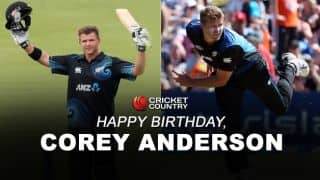 Corey Anderson: Story of New Zealand's attacking all-rounder compiled in 13 points