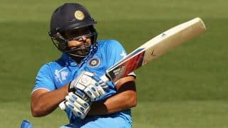 Rohit Sharma and Virat Kohli bring up 50 for India against UAE in ICC Cricket World Cup 2015