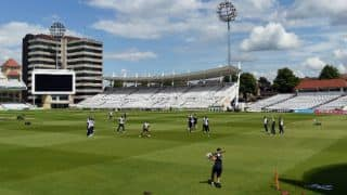 Planning for the Nottingham Test started last year: Curator