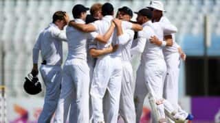 England announce unchanged Test squad for India tour