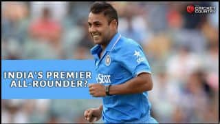 Stuart Binny proving his worth as premier all-rounder for India