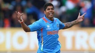 Live Cricket Score, India vs Afghanistan, ICC World Cup 2015, 6th warm-up match at Adelaide, Afghanistan 211/8 in 50 overs: India win by 153 runs