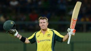 Match report: David Warner's century seals victory for Australia by 5 wickets