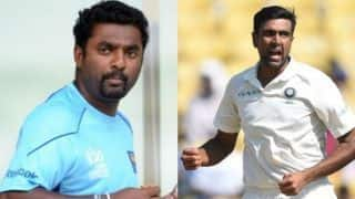 Kuldeep has been bowling well, but Ashwin is still the best: Muralitharan