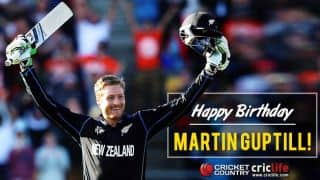 Happy birthday, Guptill: NZ opener turns 30!