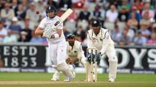India vs England, 4th Test at Manchester: Joe Root gets 7th Test fifty; score 243/6