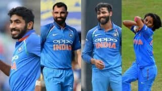 BCCI recommends Bumrah, Shami, Jadeja and Poonam for Arjuna award