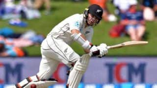 Tom Latham takes New Zealand's lead to 305 on Trent Boult's day
